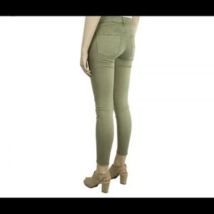 AG Adriano Goldschmied Womens Farrah Skinny in Sulfur Dried Agave